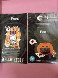Hello Kitty ezlink cards (Halloween designs)