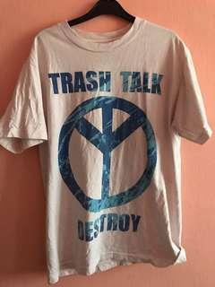 TRASH TALK DESTROY SPLATTER BLUE