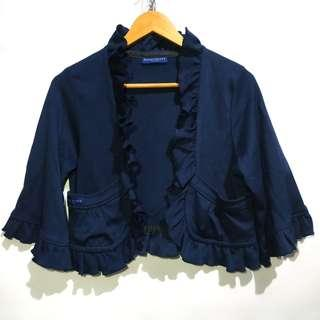 Navy Curly Outer