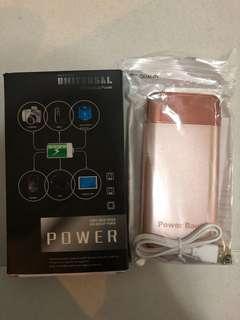 Power bank rose gold