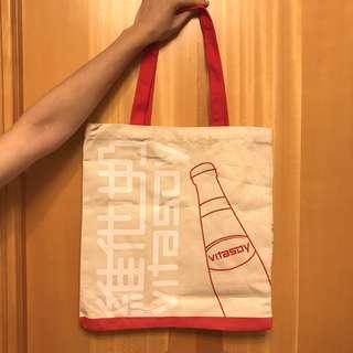 全新維他奶 Vitasoy 限量版Tote Bag實用布袋