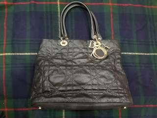 Dior coated canvas tote for sale!