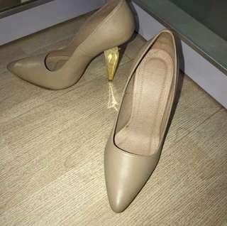 Drama Grace Nude Heels