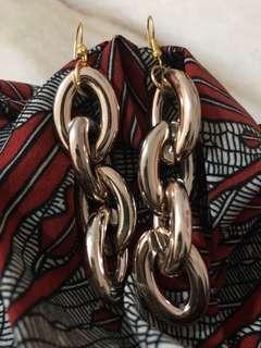 Winnieyippe rose gold jelly charm hook earrings