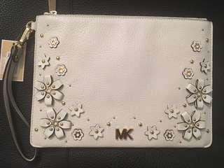 Michael Kors White Clutch