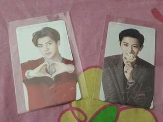 EXO - Official Baskin and Robbins Photocard