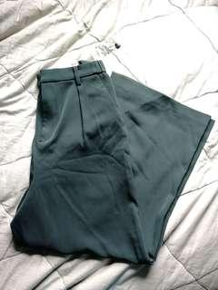 BNWT Wide leg ankle pant| UNIQLO