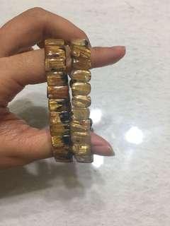🚚 鈦金手排1條4500黑礦 清料 滿絲