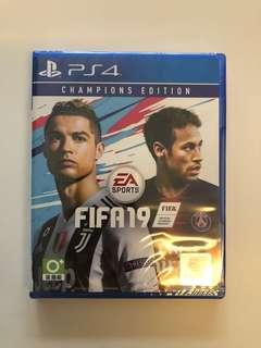 WTS- Fifa 19 Champions Edition PS4