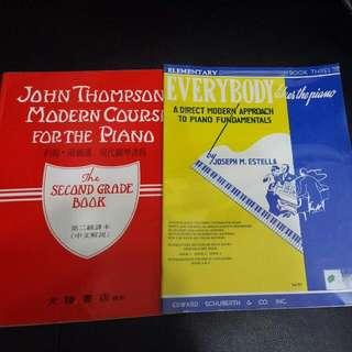Everybody likes the piano Book 3 John Thompson's Modern Course 2