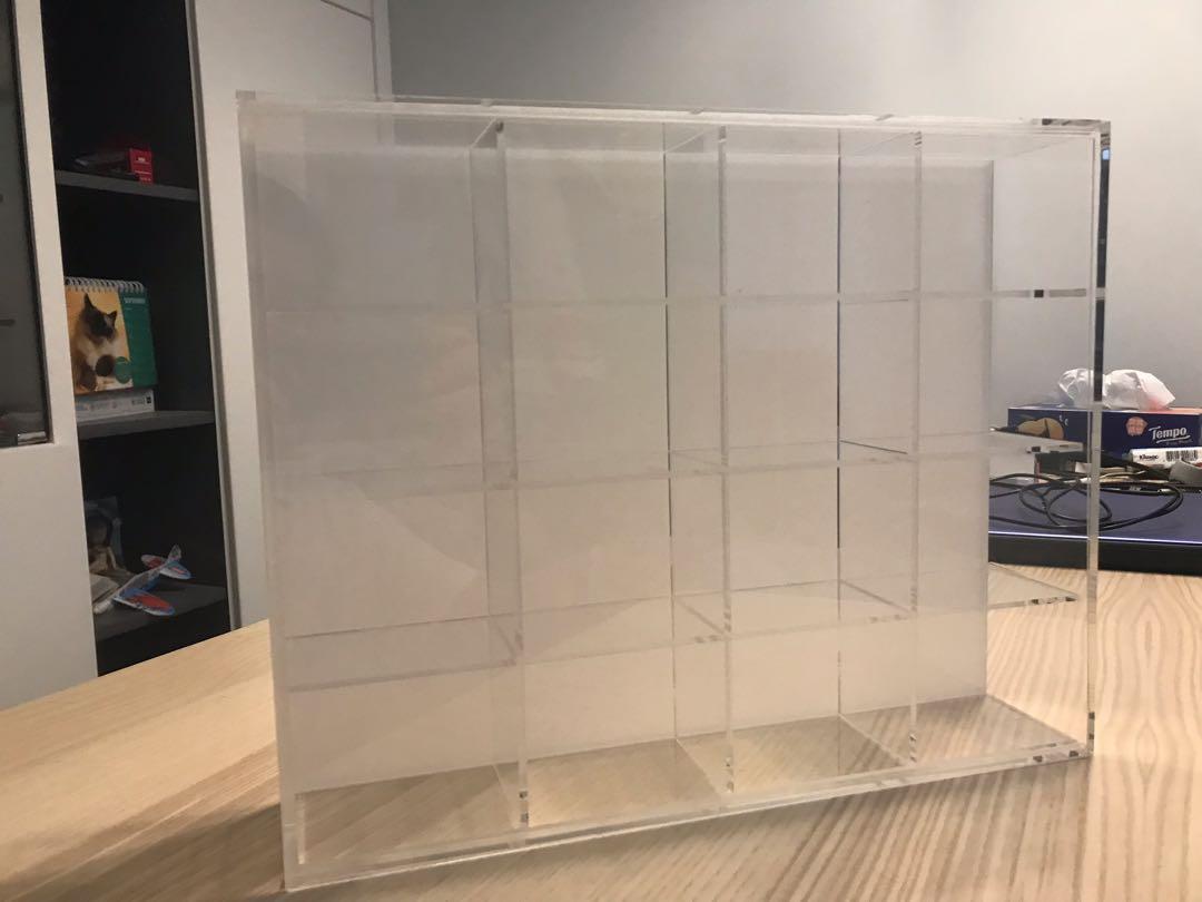 無印亞加力4層陳列盒