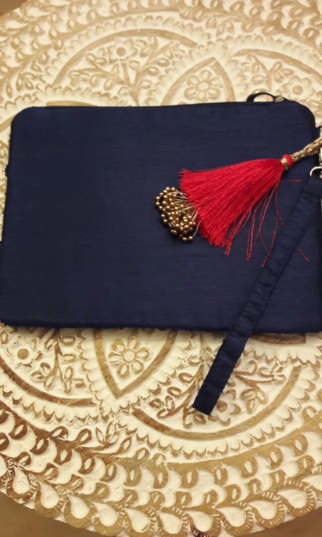 夢*想家 印度手釘滿地彩珠拉鏈袋