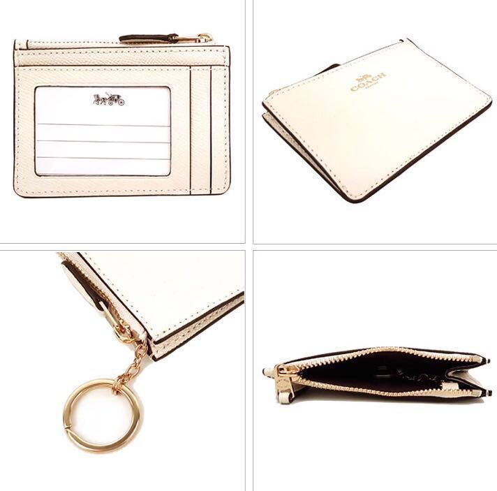 30850dbe0c 🇺🇸 Direct from USA ❤️ Coach Skinny ID Case / Wallet / Coin Pouch ...