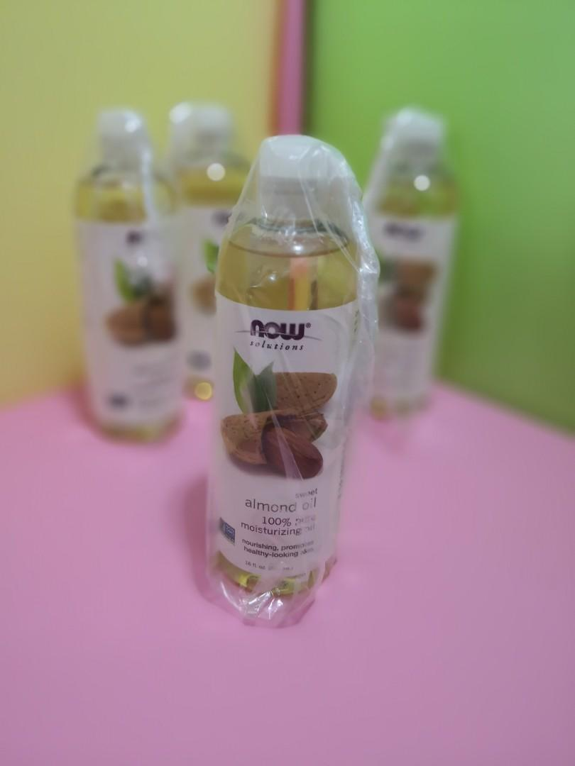 甜杏仁油 sweet almond oil Now Foods