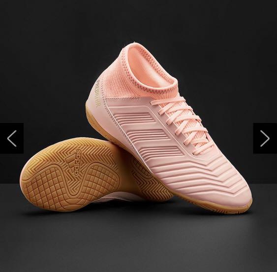 eed83960458c Adidas kids predator tango 18.3 indoor - clear orange   trace pink ...