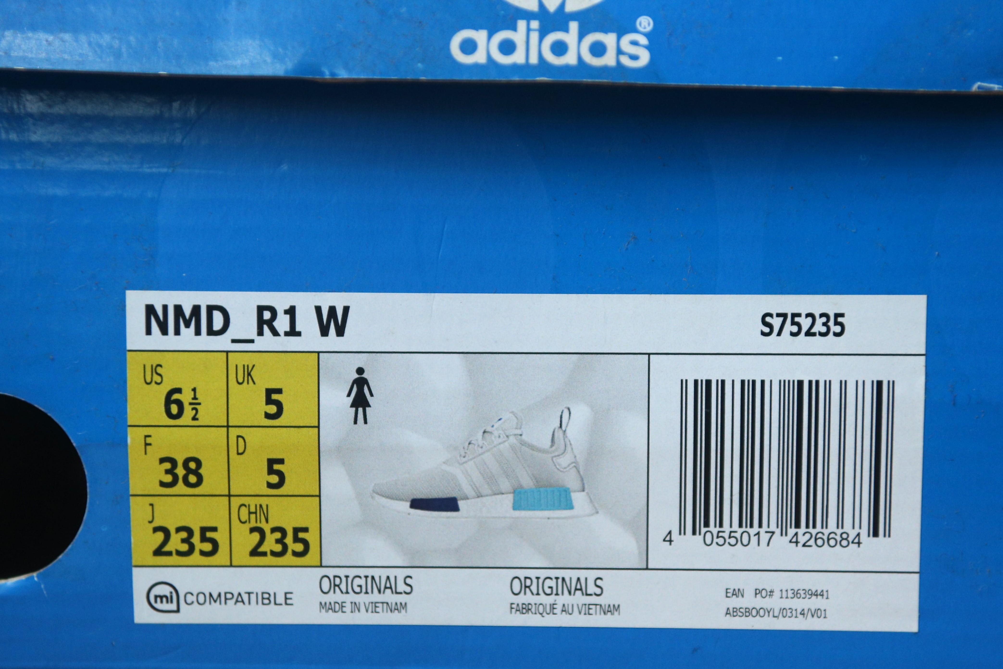 23dab875a1f8a adidas NMD R1 Sao Paulo Blue Glow Women Womens Wmn Wmns