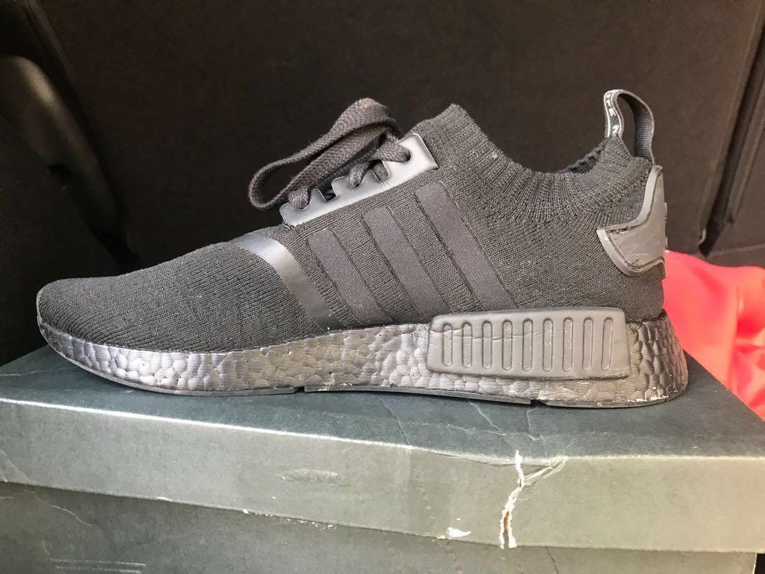 Adidas Nmd R1 Triple Black Japanese Edition Men S Fashion