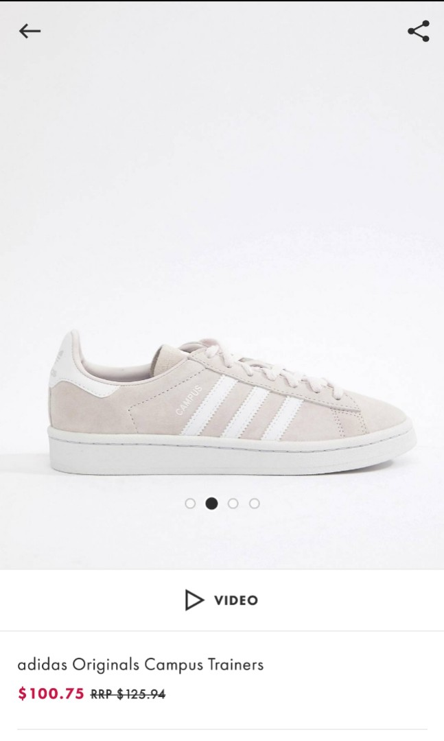 best service e16ea 6adcf Adidas Original Campus Trainers, Womens Fashion, Shoes, Sneakers on  Carousell