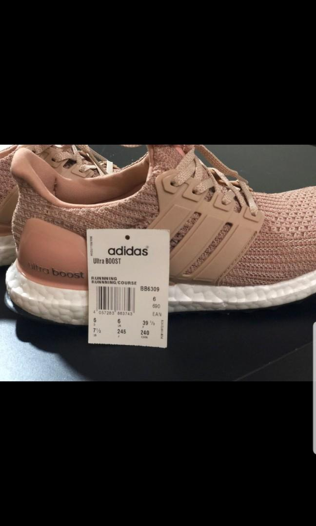 ultra boost half size up