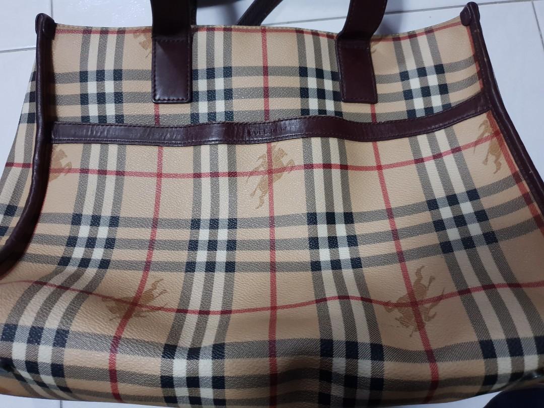 2f9f44c7785f Authentic Burberry Tote Bag