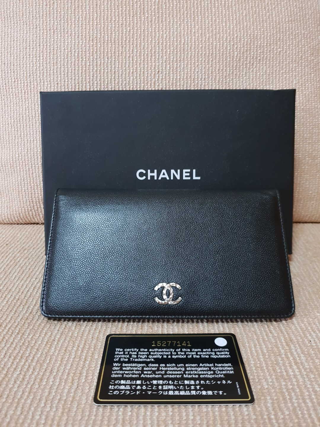 2874affed4dd Authentic Chanel long wallet