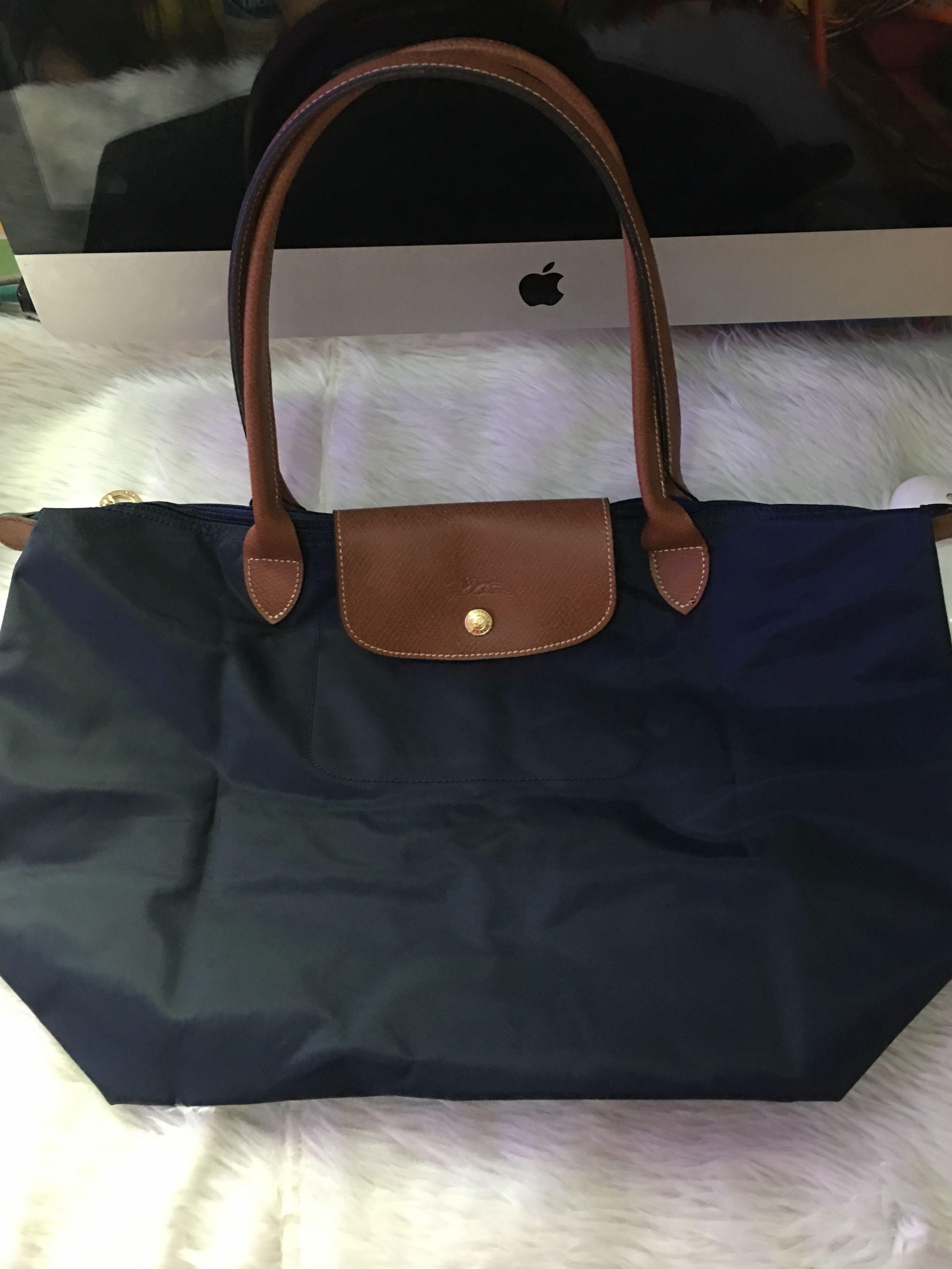 Original Longchamp Bags   Wallets Metro Manila Philippines marianne029  Source · Authentic longchamp le pliage medium navy blue Women s Fashion 20374a2c50265
