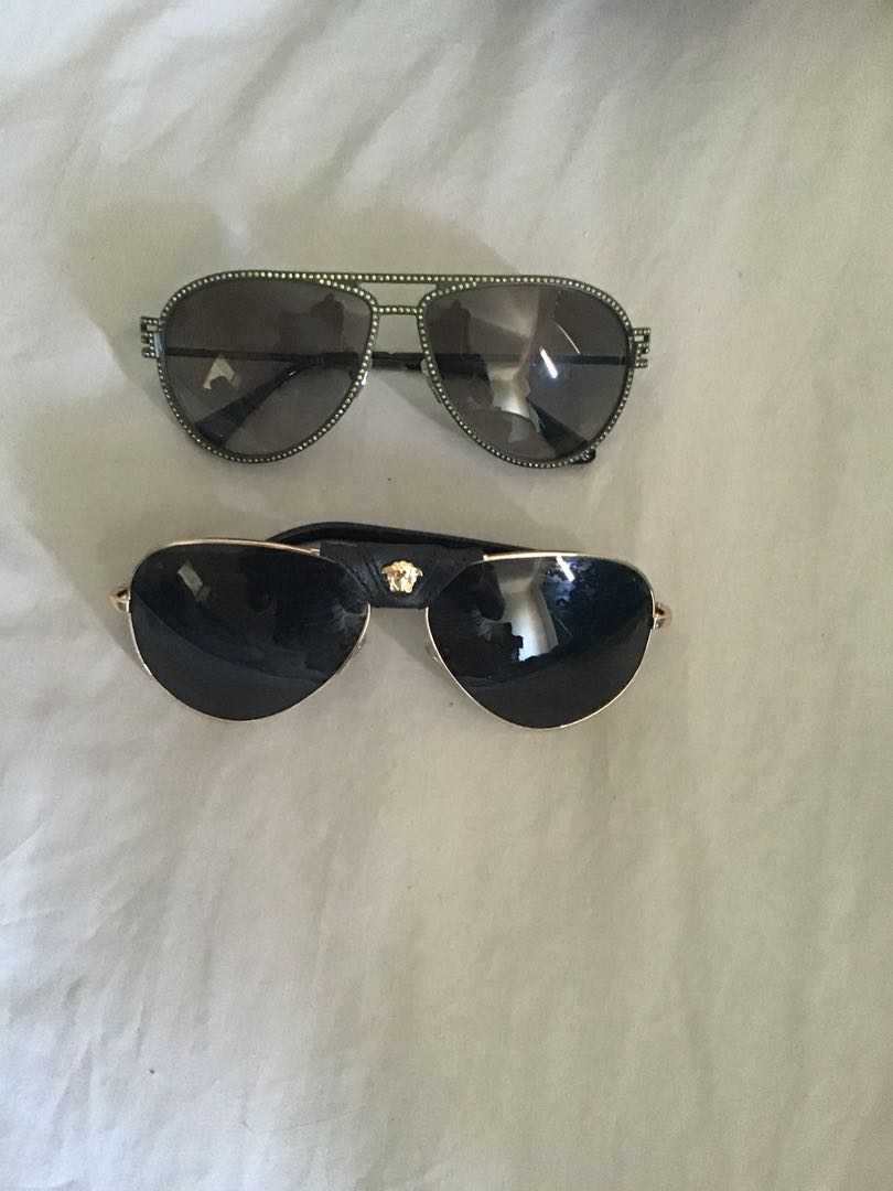 a555ec2d9913 Authentic Versace sunglasses, Luxury, Accessories on Carousell