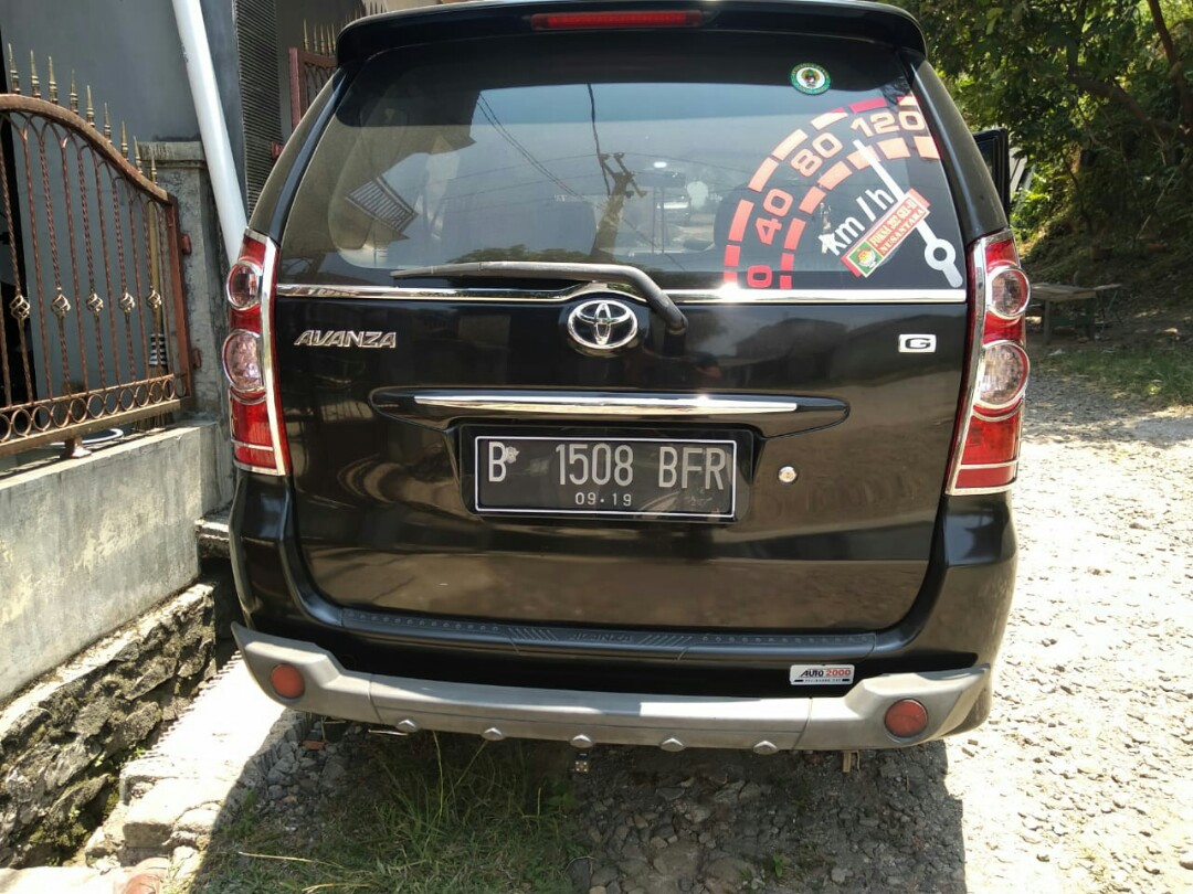Avanza Type G Th 2009 Cars For Sale On Carousell