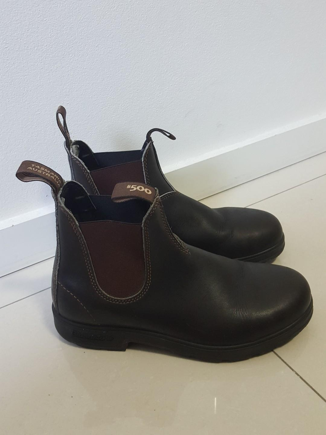 Blundstone brown boots
