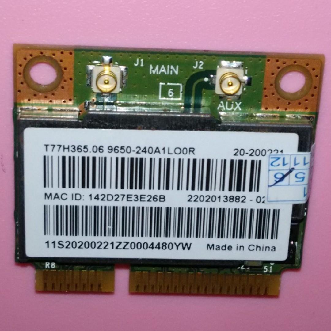 BrandNew Broadcom BCM943228HMB Wireless + bluetooth mini pci card for  Laptops upto 300Mbps