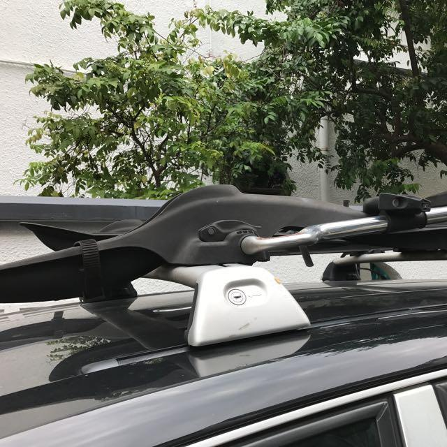 Cayenne Roof Rack And Bike Carriers