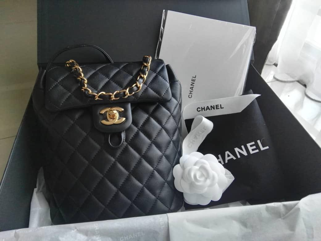 fd56d59bcab7 Chanel urban spirit back pack mini, Luxury, Bags & Wallets, Handbags ...
