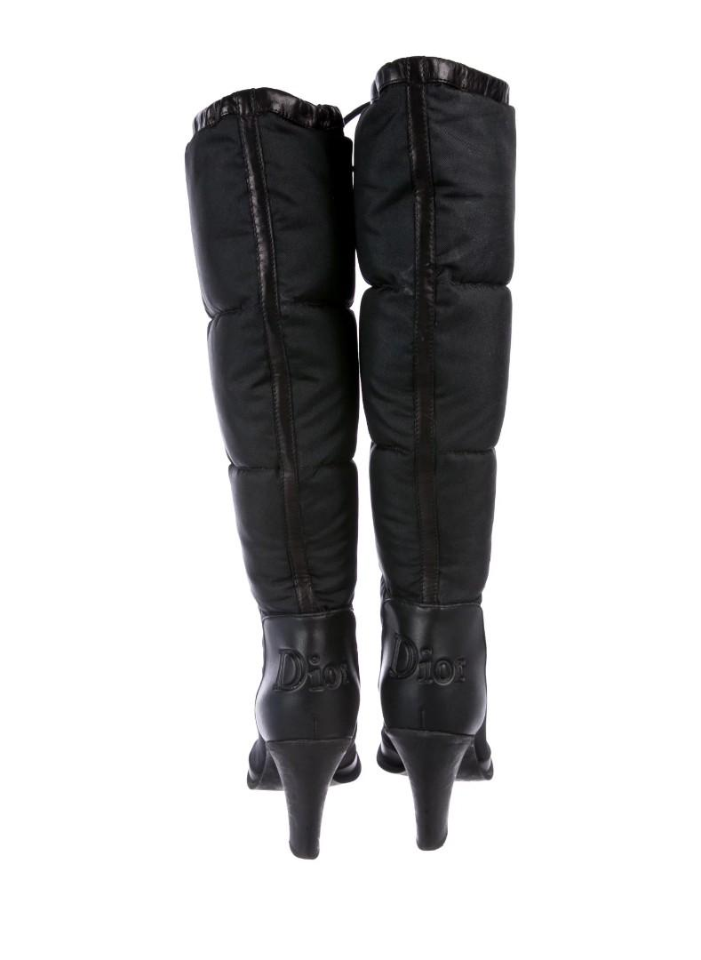 Christian Dior Puffy Boots 36.5