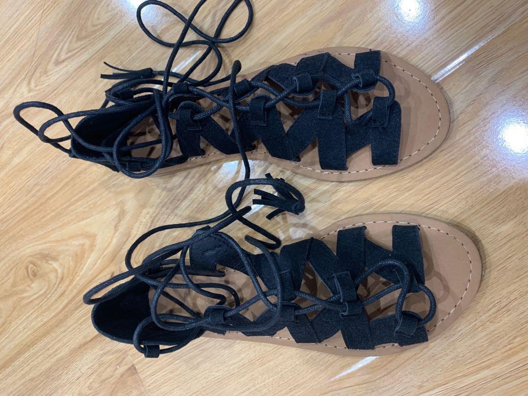 Cotton On gladiator sandals size 6