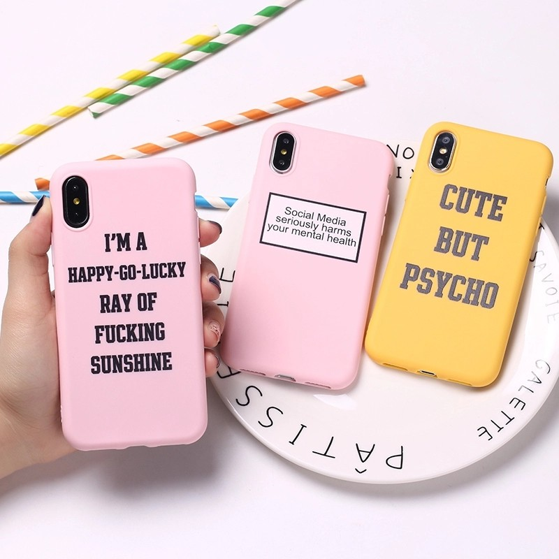 best sneakers efe6d 41b09 cute but psycho feel good tumblr soft cover case   po