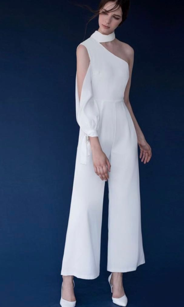 4bcb5f9d469c Doublewoot Lotesia Jumpsuit White