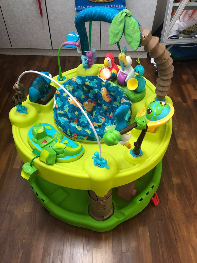 3cbc31d52b56 Evenflo triple fun active learning - Exersaucer - 9 10