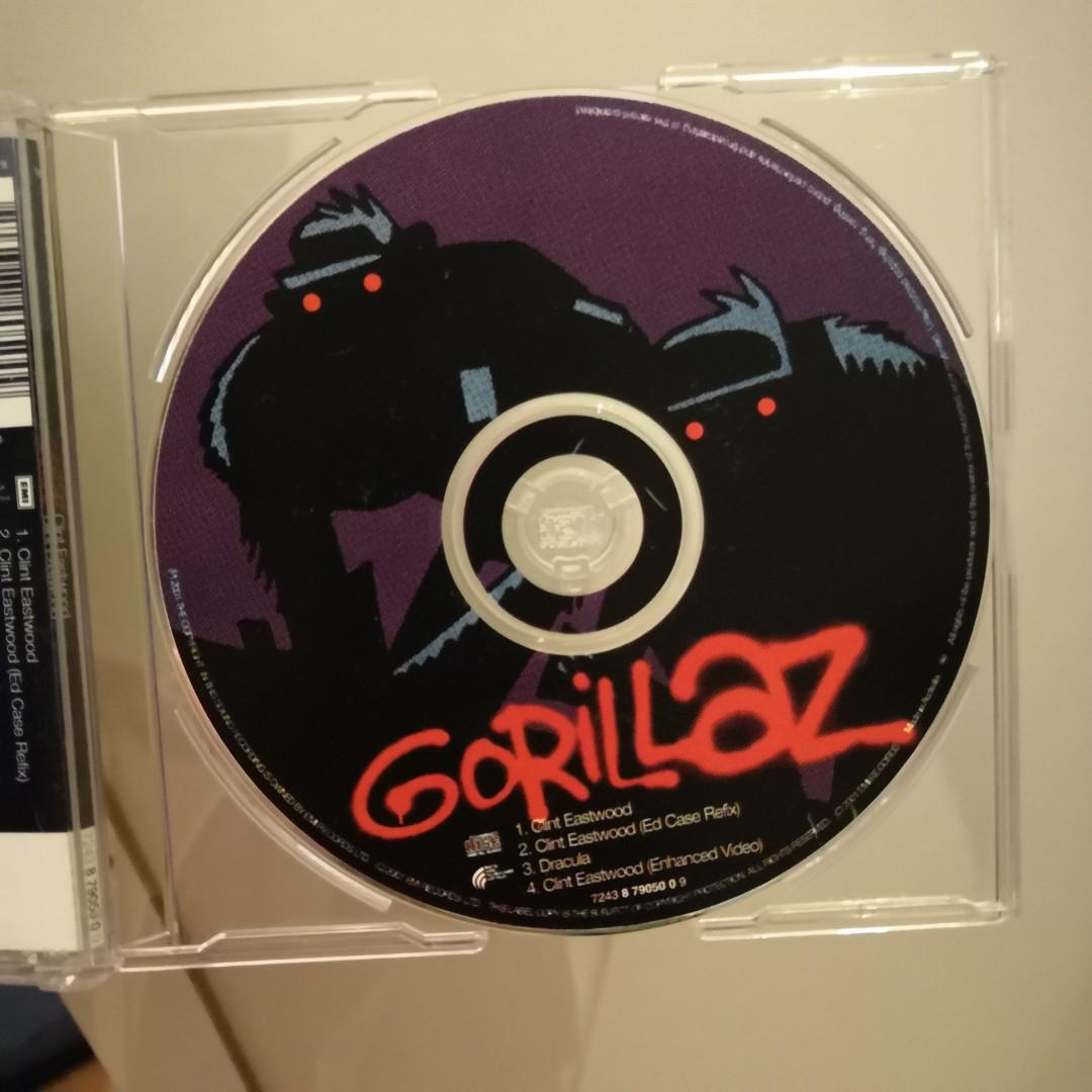 Gorillaz clint eastwood single