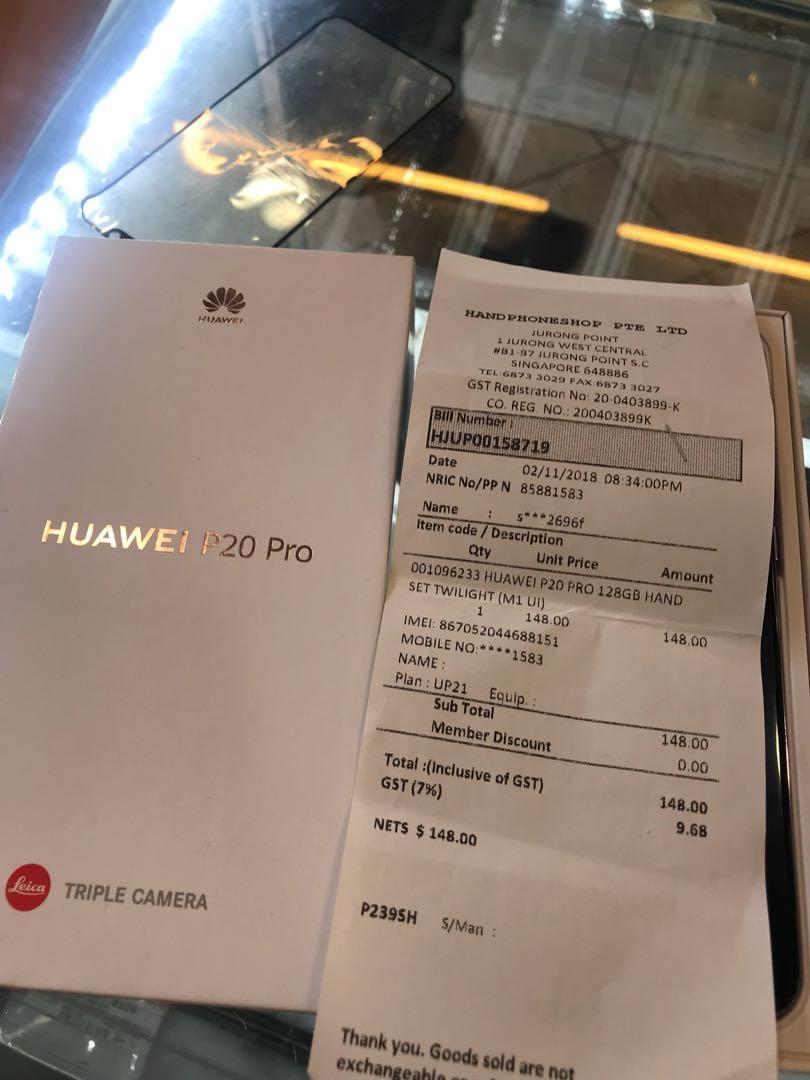 HuaWei p20 Pro, Mobile Phones & Tablets, Android Phones