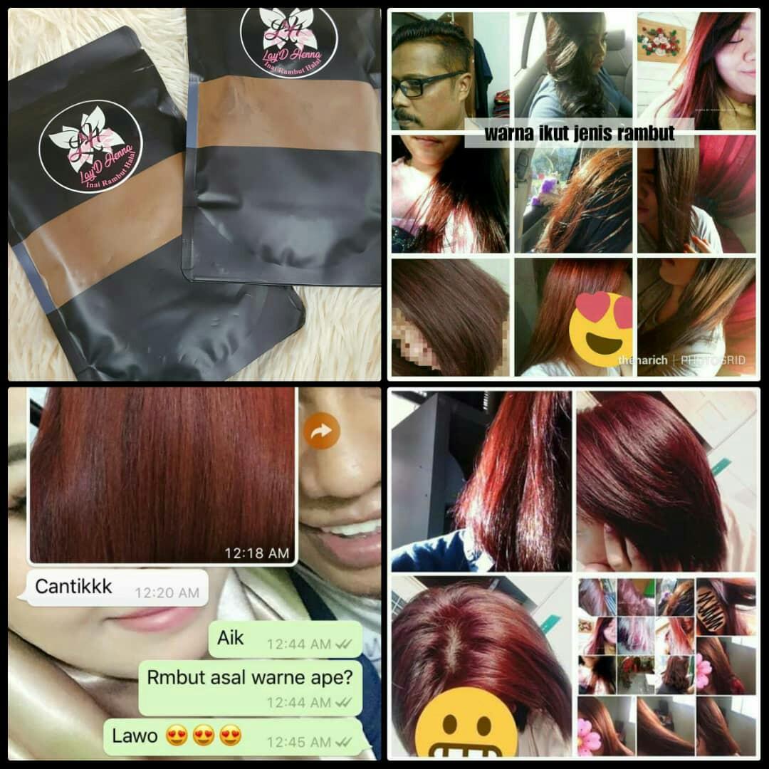 Inai Rambut Halal Health Beauty Hair Care On Carousell