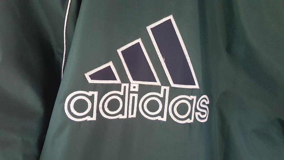 INSANE Adidas Vintage 1990s Jacket Windbreaker L/XL RARE