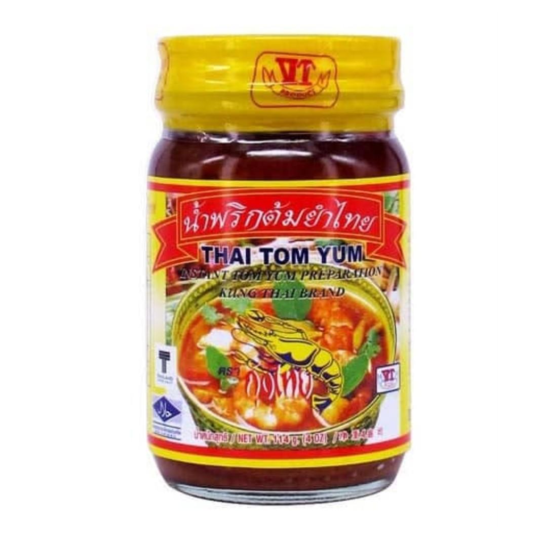 *HALAL* Instant Tom Yum Paste | Pes Tom Yum Segera Kung Thai Brand (114g)