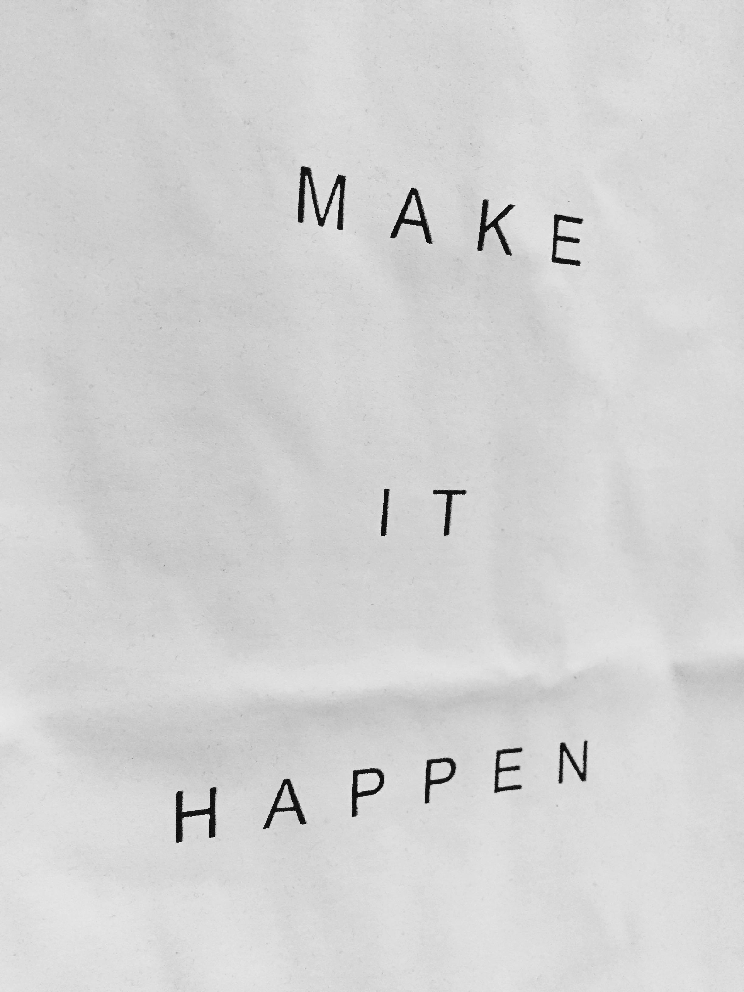 Make It Happen >> Kaos Make It Happen Men S Fashion Men S Clothes Tops On
