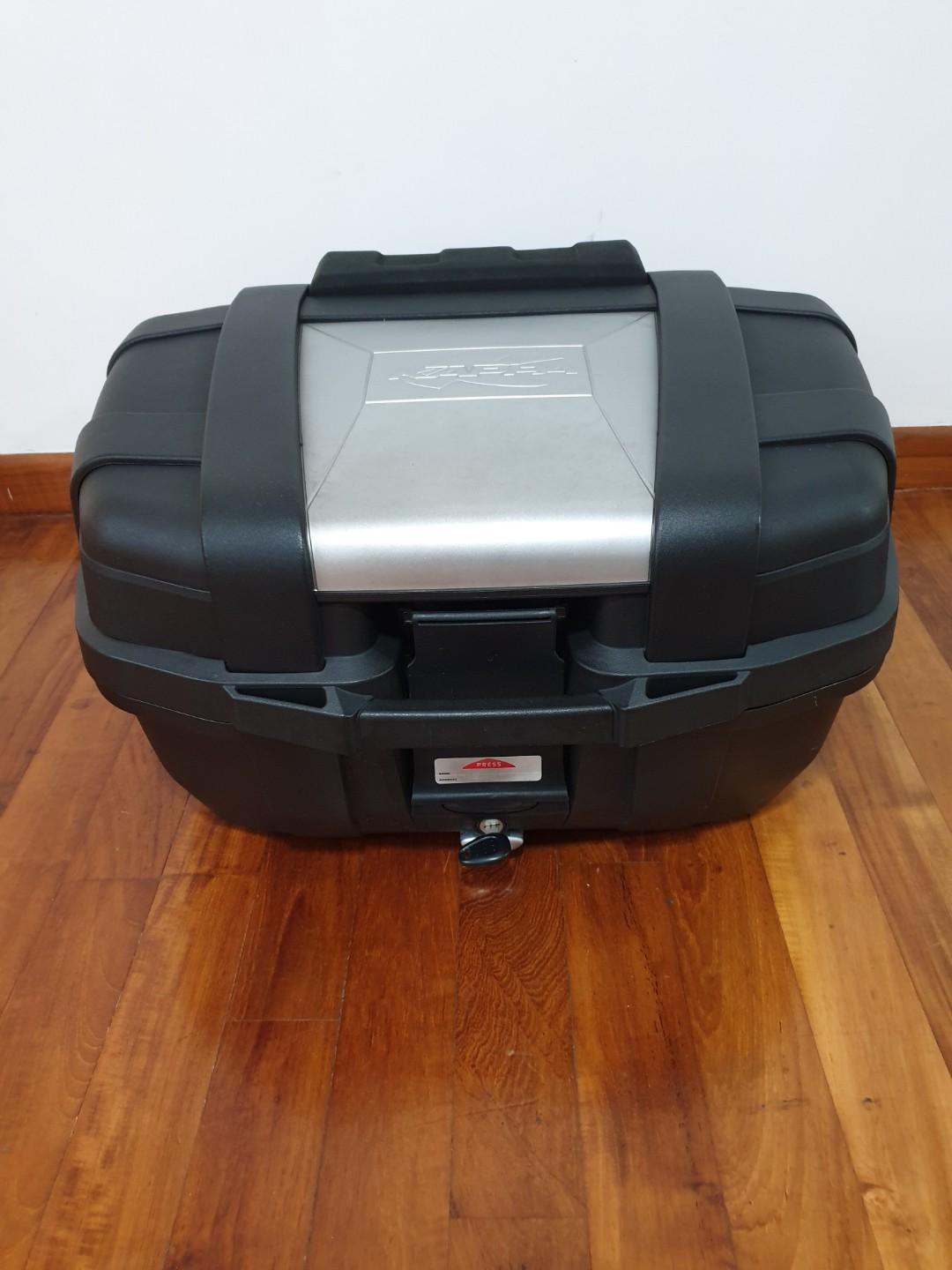 Kappa KGR52 Top Case with Back Rest and Base Plate
