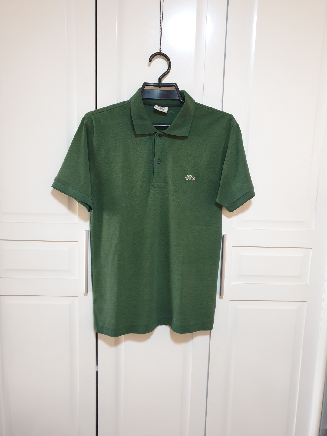 9898a2d5 LACOSTE Men's Polo Shirt, Men's Fashion, Clothes, Tops on Carousell