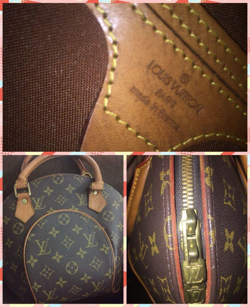 bfdeff9a4b17 Louis Vuitton Ellipse PM Handbag Monogram M51127