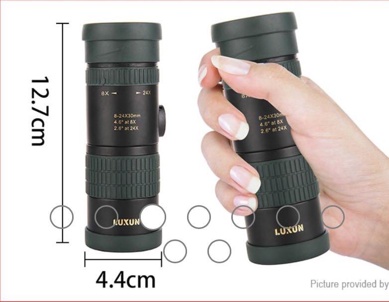 Luxun mm portable clip on mobile phone monocular telescope