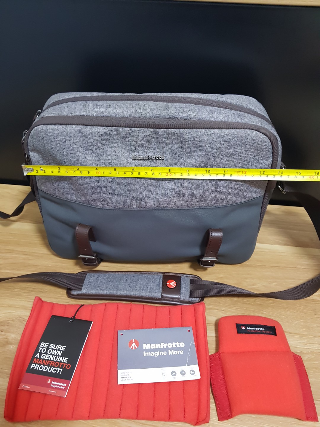 Manfrotto Windsor Reporter 885dc8a098dad