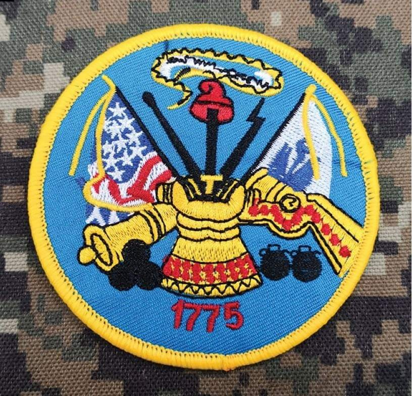 MILITARY TACTICAL VELCRO PATCHES LOGO HORNE 1775