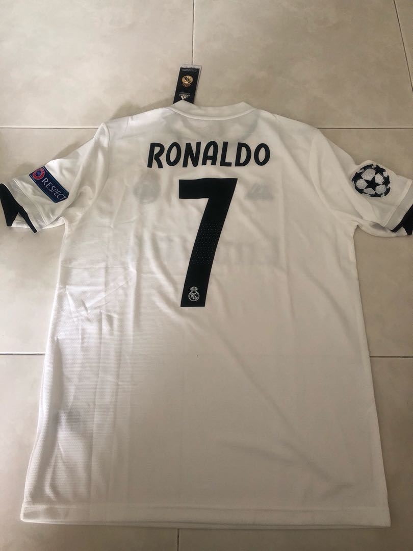 best service 48e9b a6222 amazon real madrid 17 18 3rd kit jersey ranaldo 7 ls t 47146 ...